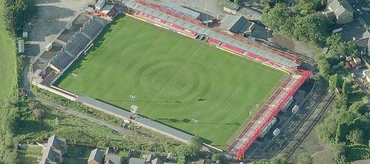 Crown Ground - Aerial - Accrington Stanley FC