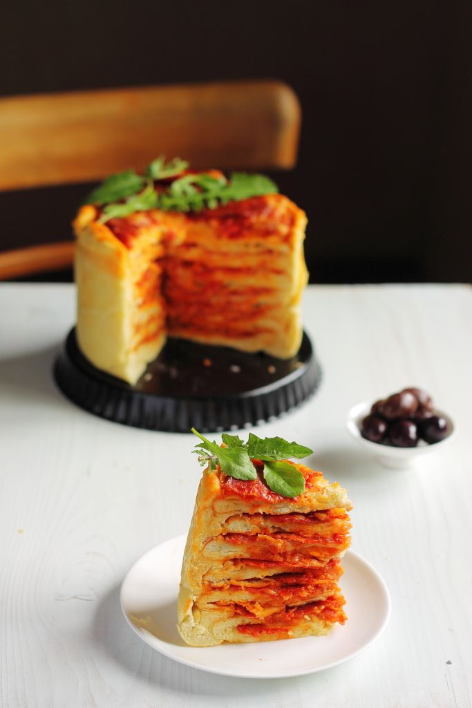 The Pizza Cake Recipe: You Will Never Look at Pizza the Same Way Again » So Good Blog