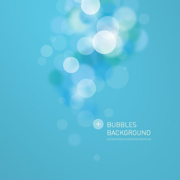 Bubbles Background Vector Graphic - DryIcons