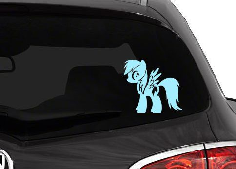 Best MLP Decals Images On Pinterest - Vinyl decals for my car