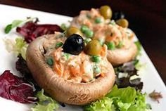 Deliciosa receta de hongo Portobello a la Florentina por Linda Brockmann