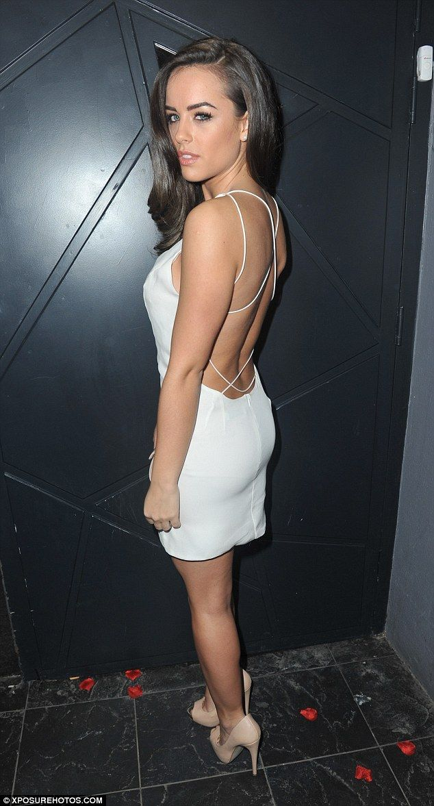 Birthday girl! Georgia May Foote was having yet another celebration for turning 24, weari...