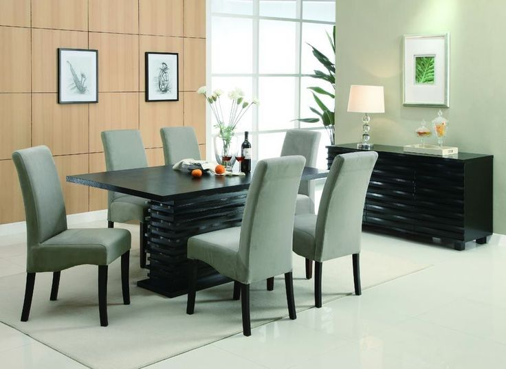 2 Stanton Contemporary Beige Side Chairs  Contemporary Dining Room  SetsFormal. 25  best Contemporary dining room sets ideas on Pinterest
