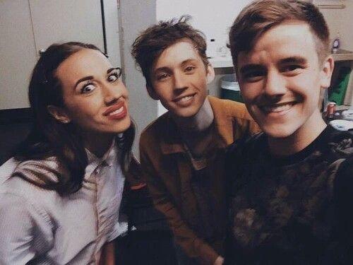 Miranda Sings, Troye Sivan, Connor Franta