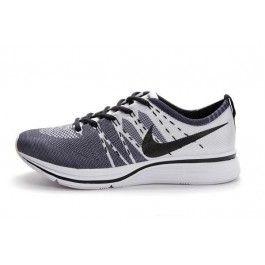 Nike Flyknit Trainer+ Damesko Hvit Svart | Nike billige sko | kjøp Nike sko på nett | Nike online sko | ovostore.com