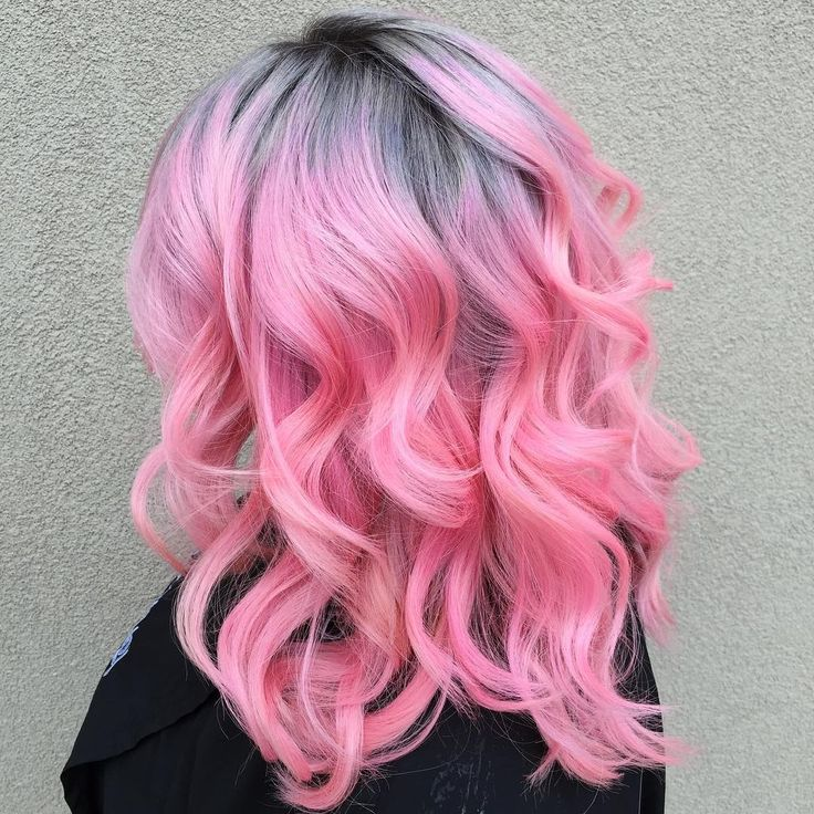 Gorgeous pink hair