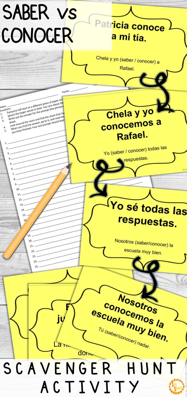 Saber Vs Conocer Corre En Circulos Activity With Digital Options Learning Spanish Spanish Teacher Resources Spanish Lesson Plans