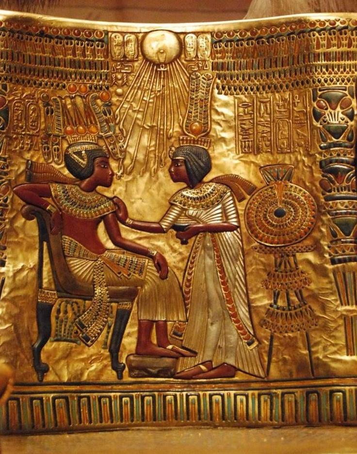 Tutankhamun throne