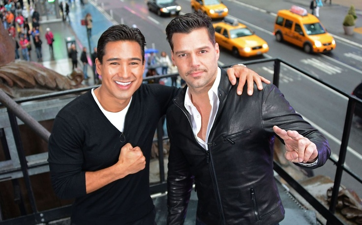 Ricky with Mario Lopez !!