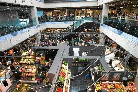 Vista general del Mercado de San Antón.
