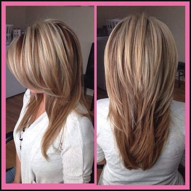 Sch Frisurentrends 2018 Lange Haare Grafiken Einfache Frisuren Frisuren Schnitt Lange Haare Lange Haare
