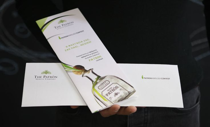 Direct mail for Tequila Patron