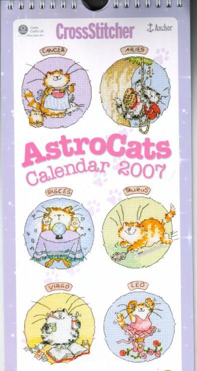 (5) Gallery.ru / Foto # 5 - Astrocats Calendario 2007 de MS - natalytretyak