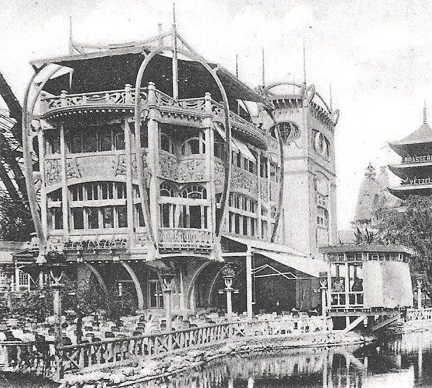Restaurant Le Pavillon Bleu - Paris, Exposition universelle de 1900