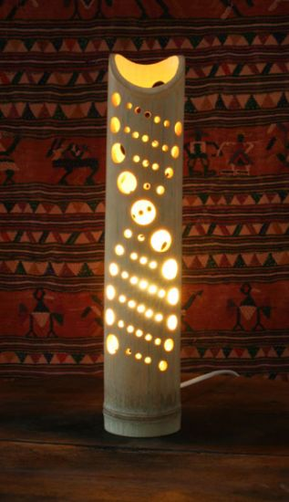 "Bamboo lamps ""ADN"" - Bamboo Arts and Crafts Gallery"