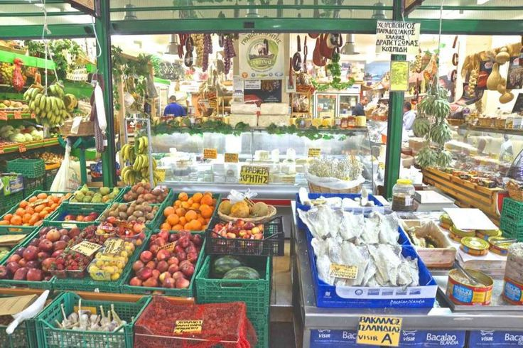Greek Gastronomy Guide: Chania Market a Foodie's Dream Come True.