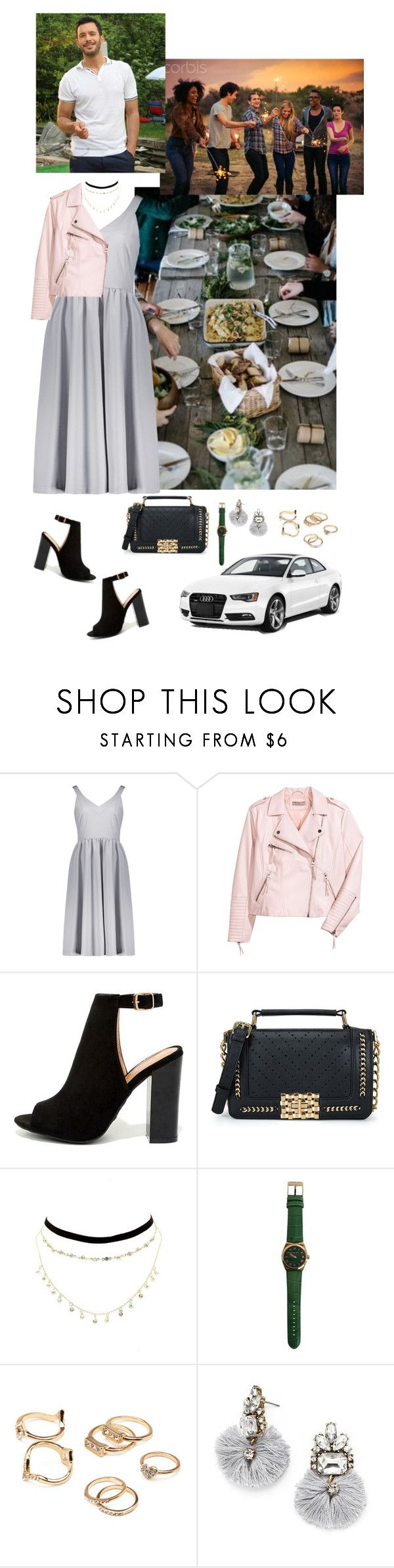 """""""Date 5 (April 11, 2014)"""" by medicicapetiens ❤ liked on Polyvore featuring H&M, LULUS, Charlotte Russe, Forever 21, BaubleBar and GET LOST"""