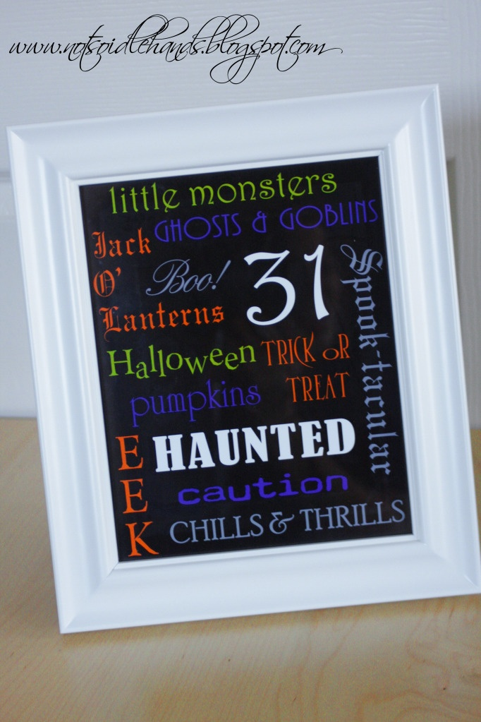 50+ best Subway Art images on Pinterest Child room, Baby rooms and - halloween decoration printouts