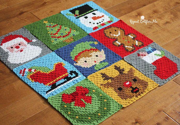Crochet christmas crochet christmas stockings and christmas