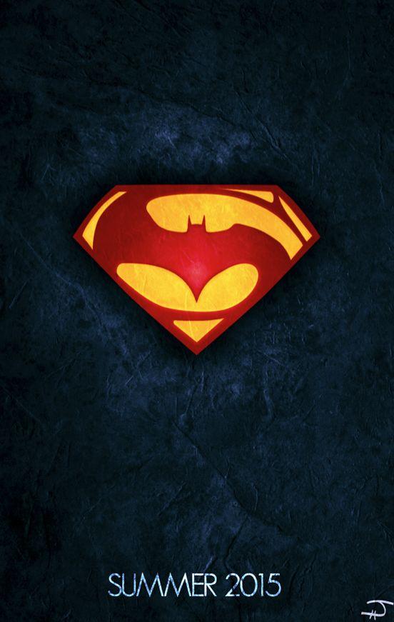 Batman vs. Superman (2015) - Poster Variant #2 by jordanahill.deviantart.com on @deviantART