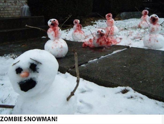 The Walking Dead.. winter edition :D