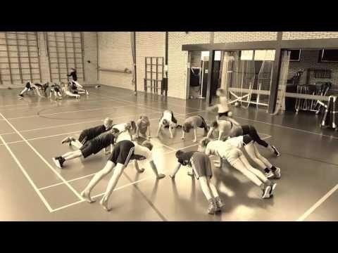 Cirkelestafette (www.despelles.nl) - YouTube