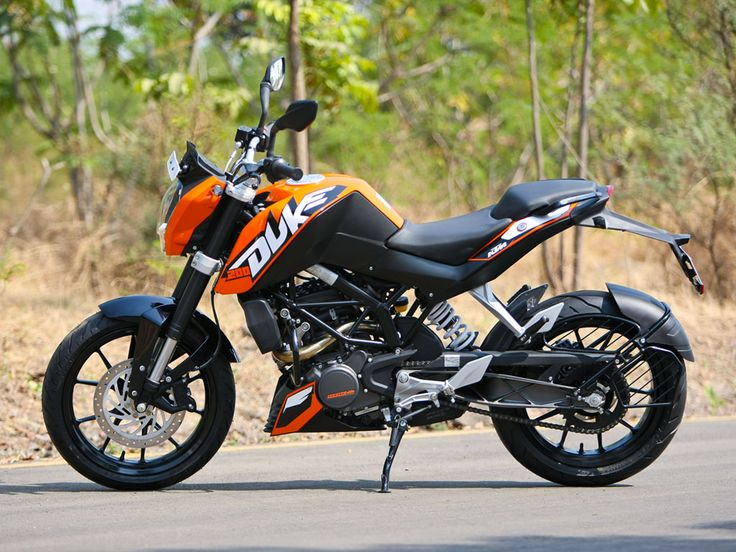 2012 KTM 200 Duke  Built for survival