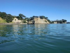 Sea kayaking at Auckland.