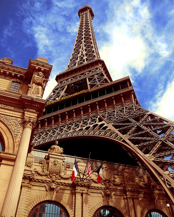 Eiffel Tower - The Ride