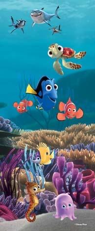 Finding Nemo - Full Size Door Mural  www.kidsbedswa.com