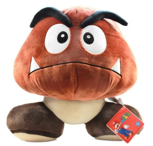 "Super Mario Plush Toy - 12"" Large Goomba by Global Holdings"