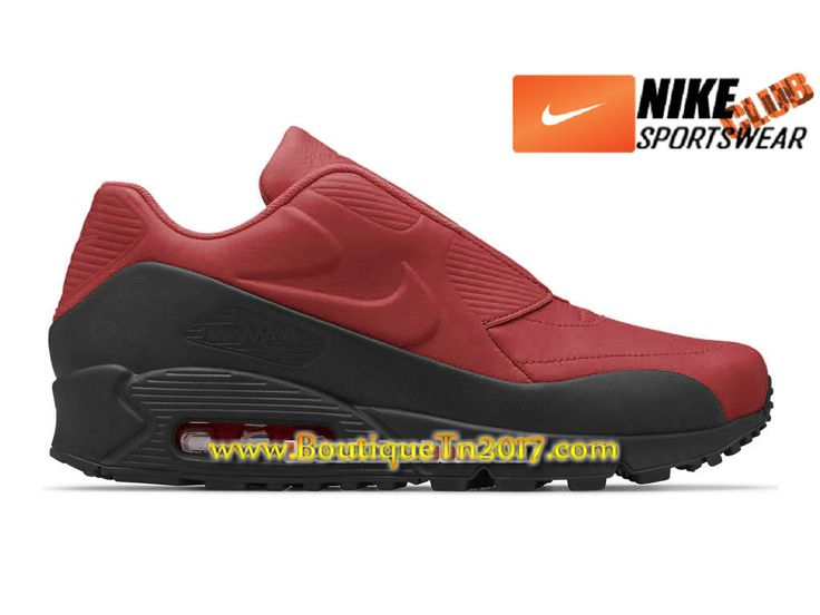 air max 90 essential noir et rouge