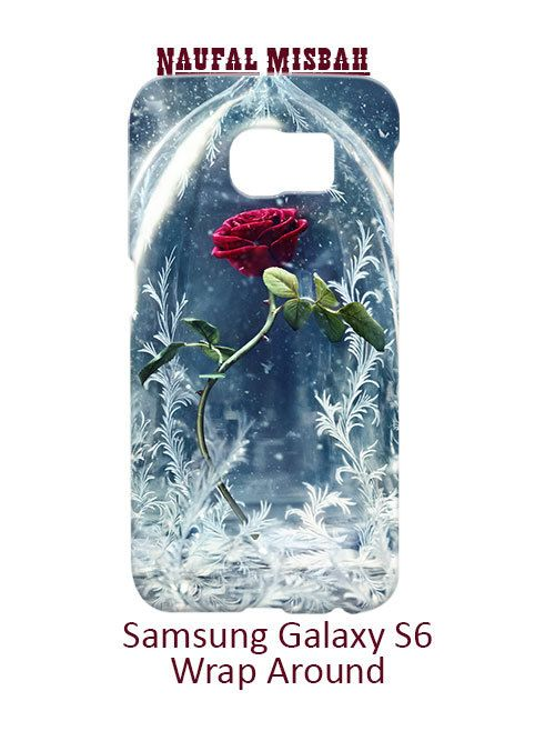 Beauty and The Beast Rose Vase Samsung Galaxy S6 Case Cover Wrap Around