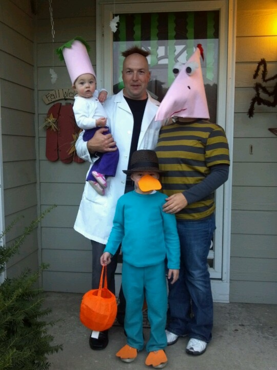 phineas and ferb halloween costumes - Phineas Halloween Costume