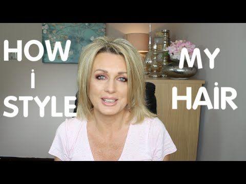 HOW I STYLE  MY FINE HAIR(2016) - YouTube