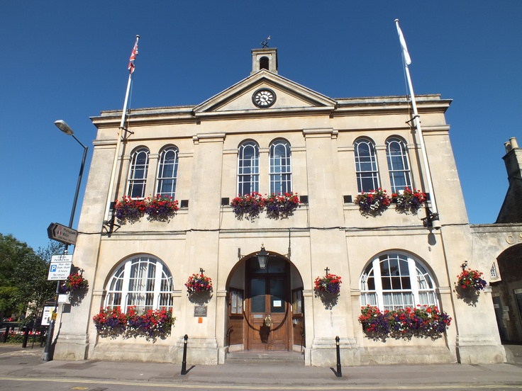 #Town Hall #Melksham #Wiltshire #England. Photo by Katherine Attreed