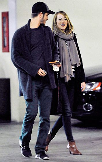 Amazing Spider-Man 2 stars (and real-life couple) Emma Stone and Andrew Garfield have date night in L.A. on Feb. 5