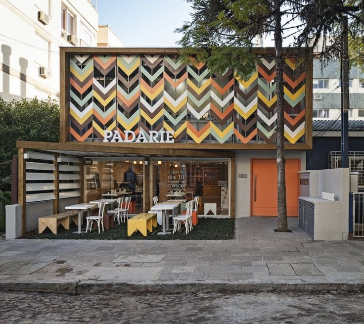 CRIO Arquiteturas have recently completed Padarie, a cafe located in Porto Alegre, Brazil.