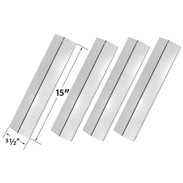 4 PACK REPLACEMENT STAINLESS STEEL HEAT SHIELD FOR AMANA AM26LP, AM27LP, AM30LP-P, AM33LP-P AND SUREFIRE SF278LP, SF308LP GAS GRILL MODELS  Fits Amana Models : AM26LP, AM27LP, AM30LP-P, AM33LP-P Fits Surefire Models : SF278LP, SF308LP  BUY NOW @ http://grillrepairparts.com/shop/grill-parts/4-pack-replacement-stainless-steel-heat-shield-for-surefire-sf278lp-surefire-sf308lp-amana-am26lp-amana-am27lp-amana-am30lp-p-amana-am33lp-p-gas-grill-models/
