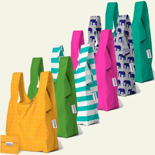 The Baby Baggu Is A Small Reusable Shopping Bag That S