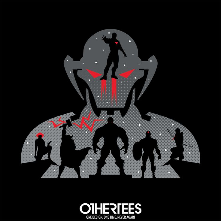 """""""Assemble"""" by JRBERGER T-shirts, Tank Tops, V-necks, Sweatshirts and Hoodies are on sale until February 3rd at www.OtherTees.com #avengers #marvel #ironman #thor #captainamerica #Ultron #comics #marvelcomics"""
