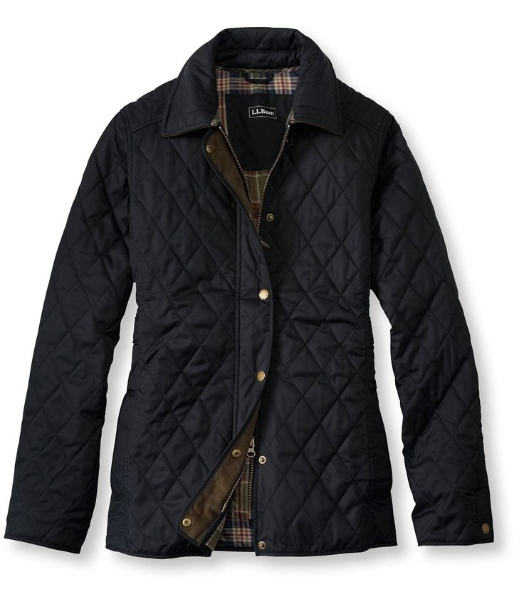 Black Quilted Coats For Women