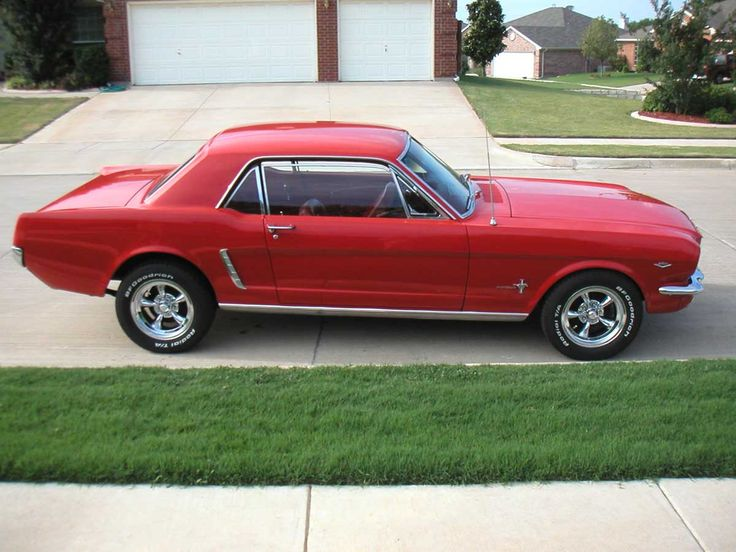 65 mustang - the only thing I miss about one of my high school boyfriends.