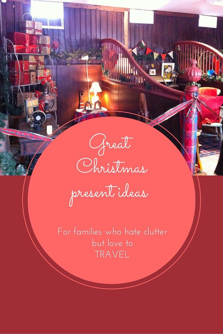 Useful travel gifts: Great Christmas present ideas for families who hate clutter but love to travel! useful gift ideas for kids, practical gift ideas for parents and special gift ideas to give your friends memories and experiences they will cherish for a lifetime