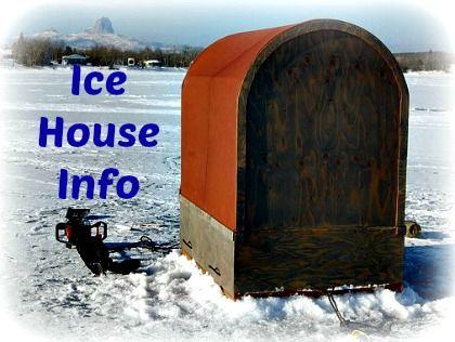 ice shanty selection