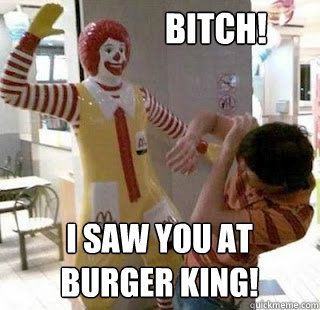 Ronald McDonald Weeping Angel memes | quickmeme