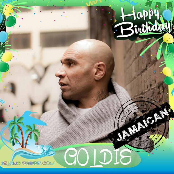 Happy Birthday Goldie!!! English musician, DJ & Actor born of Jamaican descent!!! Today we celebrate you!!! #Goldie #islandpeeps #islandpeepsbirthdays #EastEnders #CelebrityBigBrother2