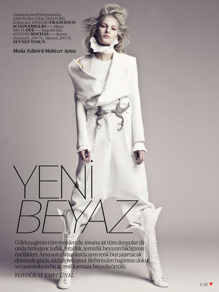 White-Fashion-Editorial-for-Vogue-Turkey-April-2013 found on inspirationbycolor.com