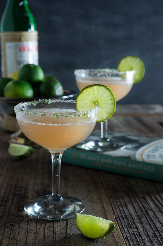 Hemingway daiquiri - icy cold, citrusy and slightl…