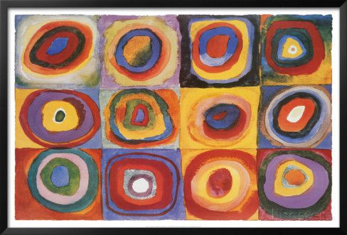 Farbstudie Quadrate, c.1913 Posters by Wassily Kandinsky at AllPosters.com